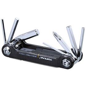 Topeak Mini 9 Pro Narzędzie do roweru Carbon czarny